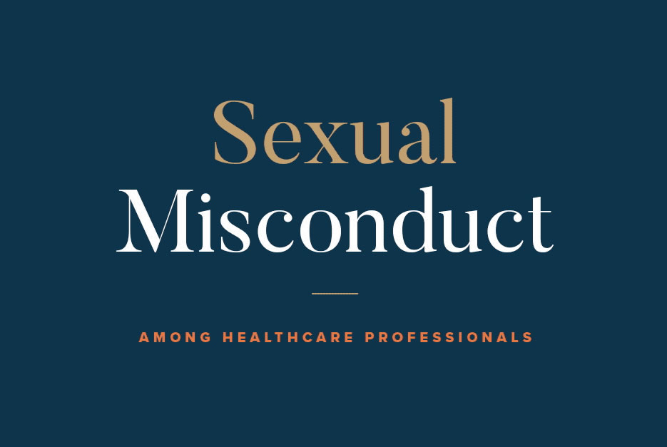 Sexual Misconduct Healthcare Professionals