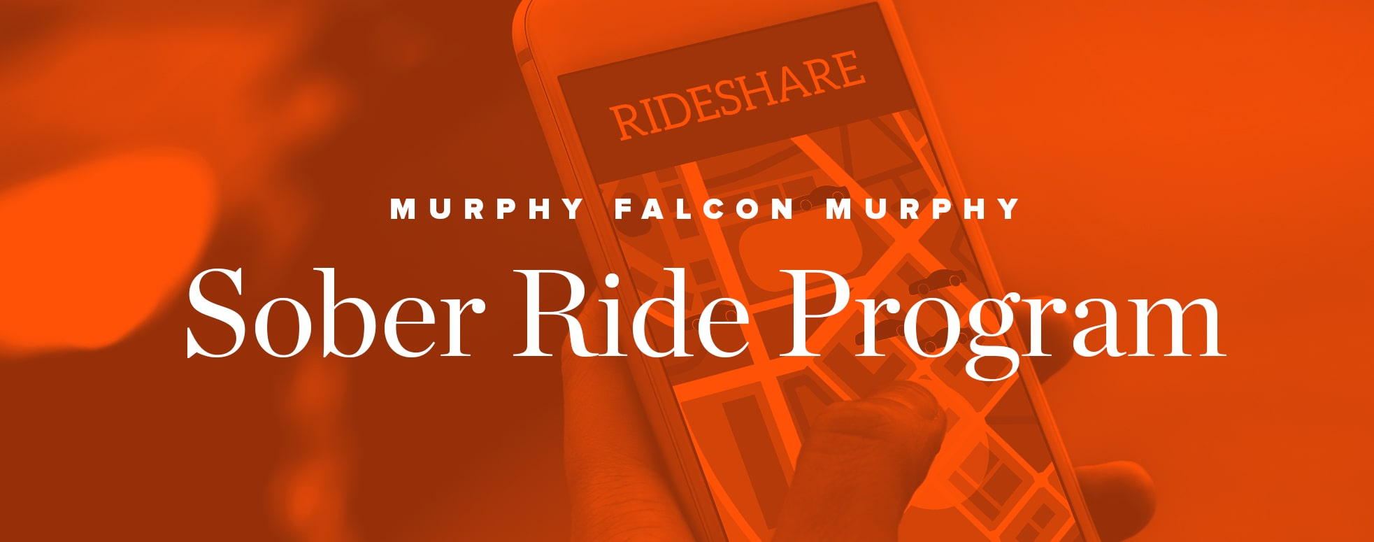 Murphy Falcon Murphy Sober Ride Program